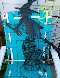 Metal Light up witch $10 Crest Hill, 60403