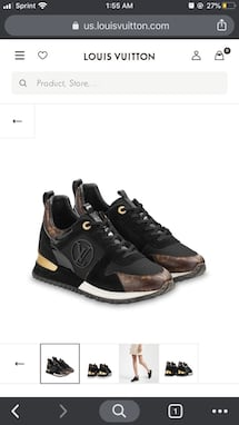 Brand New Louis Vuitton Sneakers