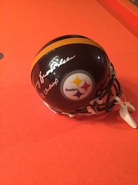 Terry Bradshaw autograph mini helmet with COA. Signed 4x champs Frederick, 21701