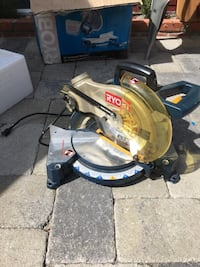 black and gray Ryobi miter saw La Cañada Flintridge, 91011
