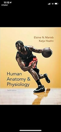 Human anatomy and physiology textbook Mississauga, L5V 1K8