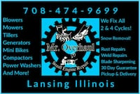 Snow Removal/Snow Blower Repairs  Lansing