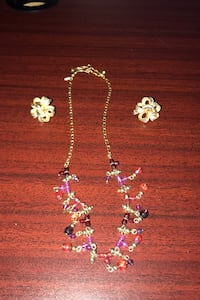 Necklace and earrings  , T6S 1G3