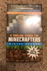 Mine Craft books  NEW sealed package