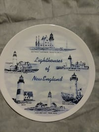 Commemorative lighthouses of new england