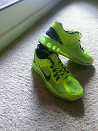 pair of green Nike running shoes Little Rock, 72205