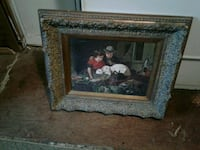 brown wooden framed painting of woman Chattanooga, 37421