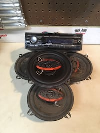 Sony CD player and speakers  Linden, 22642
