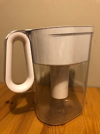 White and gray electric kettle Surrey, V3Z 3M3