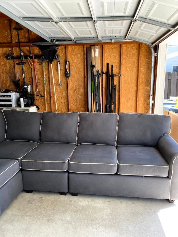Sectional Couch - Gray 4