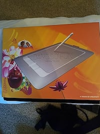 Bamboo touch drawing pad