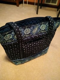 Vera Bradley quilted tote Cheverly