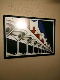 black and white wooden framed wall decor Dallas, 75214