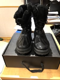 Never Worn size 12 Rudsak mens winter boots with box Laval, H7Y