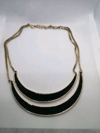 Golden and black necklace  Ottawa, K1T 3T8