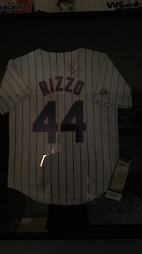 signed anthony rizzo jersey Antioch, 60002