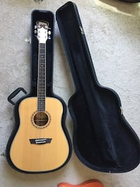 Washburn acoustic guitar w/case Worcester, 01604