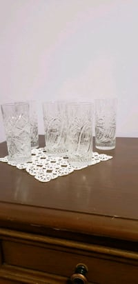 Crystal glass. Set of 6 crystal glass for sale! Toronto, M1R 2H2