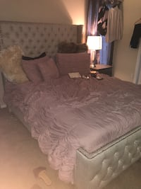 Queen Size Bed with Matress  Silver Spring