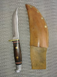 Western brand hunting knife