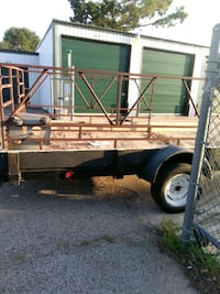 brown and gray utility trailer Chickasha, 73018
