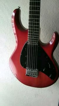 red and black electric guitar Antelope, 95843