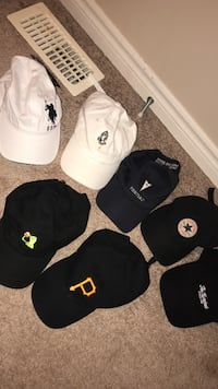 10$ EACH HAT, OR 50 FOR ALL OF THEM  Guelph, N1L 0B5
