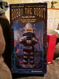 Robby the robot talking figurine. 1997 Coquitlam, V3K 2X5