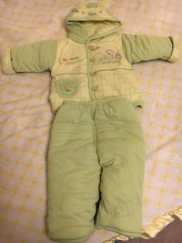 Baby Outerwear Bear Jacket and Pants (Size - S) - NRFB Toronto