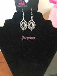 pair of silver-colored Gorgeous earrings Rocky Mount, 27801