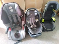 baby's two black car seats Hollywood, 33019