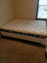 Queen Mattress and Box spring with frame!