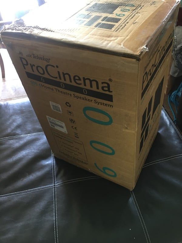 Procinema 600 home theater speaker system. 0ed0836e-4044-44f1-aafe-068edc558130