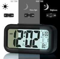 NEW! Alarm clock digital smart backlight  Little Rock, 72212