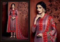 women's red and brown sari dress Hyderabad, 500013