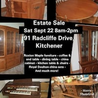 Estate Sale Sat Sep 22 null