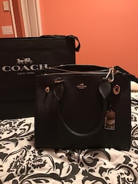 Authentic Coach Black Bag