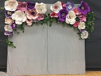 flower wall backdrop decor for parties Surrey, V4N