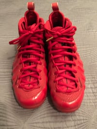Nike air foamposite pro gym red (size 11.5) (with box)