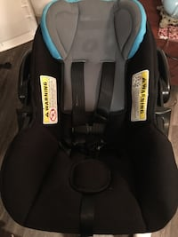 baby's black and gray carrier car seat 1194 mi