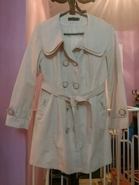 beige double-breasted trench coat Toronto, M1R 4X9