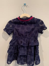 Cat & Jack toddler girls navy blue dress 2T Morganville, 07751