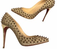 Authentic louboutin heels  North Vancouver, V7P 0B1