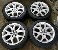 Hyundai rims and tires all season  Toronto, M6L 1A4