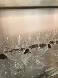 Waterford crystal 12 Champagne & 12 Wine glassware Brampton, L6P 0P1