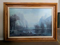 Framed painting Langley, V1M 2C2