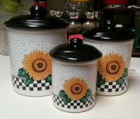 3 Sunflower Canisters Bakersfield, 93309