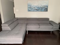 Left Facing Sectional Couch Sofa - The Brick