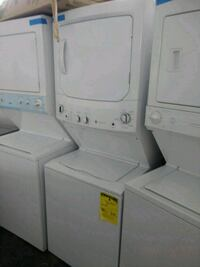 white stackable washer and dryer Baltimore, 21223