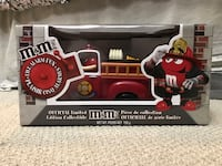 $100 OBO M&M Official Limited Edition Fire Truck Candy Dispenser  Langley City
